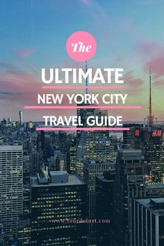New York City is a city for foodies! If you're looking for the best places to eat, here is a complete foodie guide to New York City! Travel Tours, Travel Advice, Travel Usa, Nightlife Travel, Travel Hacks, Hawaii Travel, Travel Guides, Thailand Nightlife, Travel Vlog