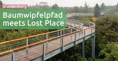 Baumwipfelpfad meets Lost Place & Regenwetter (Beelitz)