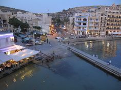 A Xlendi Bay evening, great place for summers  al fresco dining!