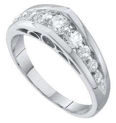 0.50CTW ROUND DIAMOND LADIES GOLD  BAND  http://www.qualitygemsandjewelry.com/050CTW-ROUND-DIAMOND-LADIES-GOLD-BAND-39324.htm