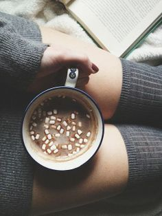 Hot Chocolate. Mini Marshmallows. Snug. Knee High Socks. Cosy Jumper. #MyPerfectChristmasParty