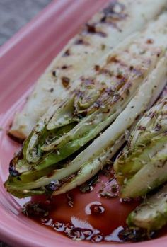 Grilled Belgian Endive Recipe - @La Farme / Anne Truchi Moerman Try this with Wittloff, its pretty good!!