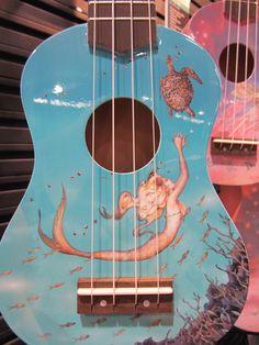 How did I not know there was a ukulele company called Luna? Luna Ukulele, Ukulele Art, Cool Ukulele, Ukulele Chords, Guitar Art, Cool Guitar, Ukulele Fingerpicking, Banjo, Ukulele Songs Beginner