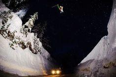 Jumping the Mount Baker Road Gap, Washington