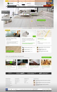 Parchet pe viata - Home page design #parquet: a floor for a lifetime