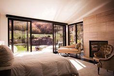 Marvin bedroom window and door. Gorgeous layout and view! Bedroom idea. Please call NEXT for all of your window &  door needs. 630-590-1201. #windows #glassdoor #entrydoors #chicagodoorcompany #entrydoorideas #homeideas #whitedoor #windowcompany #homeblogger #chicagoblogger