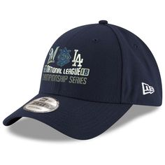 hot sale online 8828c 6b030 Be ready to root your team on to victory by picking up this Milwaukee  Brewers vs. Los Angeles Dodgers 2018 NLCS Dueling Hat from New Era.
