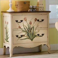 decorated furniture diy on Pinterest - Diy Hand Painted Furniture
