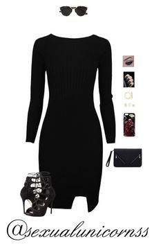 """""""SHOUTOUT!"""" by hanakdudley ❤ liked on Polyvore featuring Alexander McQueen, Christian Dior, Charlotte Russe, Ross-Simons, women's clothing, women, female, woman, misses and juniors"""