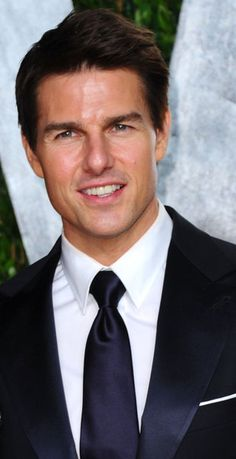 Tom Cruise. I met him and talked to him. He's very nice.