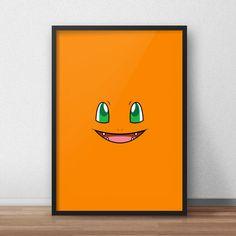 Een persoonlijke favoriet uit mijn Etsy shop https://www.etsy.com/nl/listing/590213752/charmander-pokemon-printed-canvas