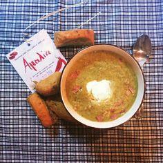 Broccoli soup with Paximadakia_Amalia