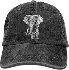 Indian Elephant Vintage Adjustable Cowboy Cap Baseball Caps for Adult Unisex Indian Elephant, Elephant Love, Elephant Art, Elephant Stuff, Elephant Keychain, Elephant Jewelry, Elephant Clothing, All About Elephants, Elephants Never Forget