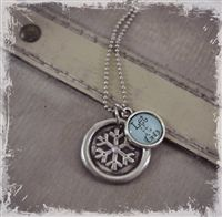 So beautiful, Elsa inspired necklace