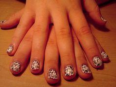 Finger Blossoms by Joan  Stamp Art
