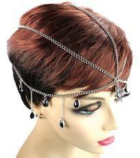 Black Bead Head Chain