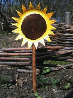 Klip en solsikke