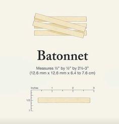 Batonnet cut