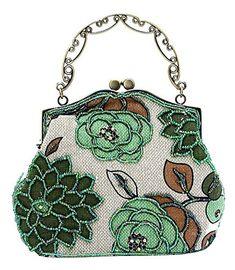 ILISHOP Women's Vintage Evening Bag Luxury Printing Beaded Evening Clutch Handbags On Sale (Green) ilishop http://www.amazon.com/dp/B00Y9ZJE5E/ref=cm_sw_r_pi_dp_NLhpwb15REXZH