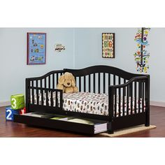 $156.24 - Dream On Me Toddler Daybed with Storage --- $139.99 on Amazon