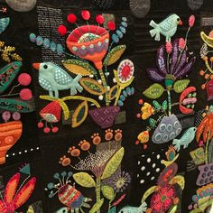sue spargo 2019 sue spargo The post sue spargo 2019 appeared first on Wool Diy. Wool Applique Quilts, Wool Quilts, Wool Embroidery, Felt Applique, Embroidery Stitches, Felted Wool Crafts, Felt Crafts, Fabric Art, Fabric Crafts