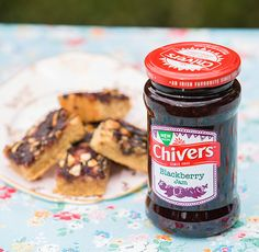 Peanut Butter and Jam Bars - Chivers » Blog Archive