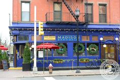 Madison Bar & Grill is a very popular Bar / restaurant in Hoboken, New Jersey. Description from ijustwanttoeat.com. I searched for this on bing.com/images