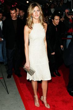 October 30, 2005 - NYC premiere of Derailed wearing a Chanel dress - Jennifer Aniston