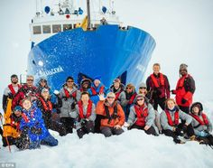 science crew antarctica - Google Search