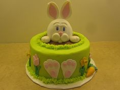 bunny cake images | ... bunny cake base cake is are 8 inch round cakes and the bunny rabbit