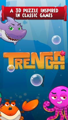 TRENGA: block puzzle game v1.1 [Mod]   TRENGA: block puzzle game v1.1[Mod]Requirements: 4.0.3 Overview:TRENGA is afreestrategy puzzle game inspired by great casual classics. You will explore the bottom of the ocean saving sea animals known as Buddies that will aid you through the puzzles! The objective is to fit all blocks in the right spots completing lines in all 4 sides of the tower causing it to collapse and reveal chests filled with amazing rewards!  Features: - Lots of fun levels with…