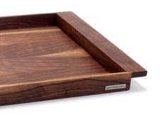Грецкий орех деревянный поднос в трех размерах | NATURE HOME