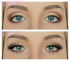 Melt the iciest of hearts with the fresh, doe-eyed look these adorable lower lashes will give your wondering gaze. Clearly defined, evenly spaced tufts give you that angelic, doll-like appearance whil