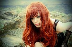 Thinking RedHead. Color perfection