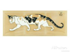 The Cat, le Chat Prints by Théophile Alexandre Steinlen at AllPosters.com