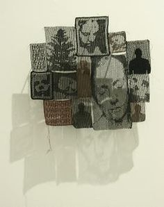 Crocheted art. Amazing!