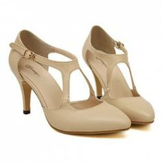 $13.55 Stylish Women's Pumps With Solid Color and Hollow Out Design