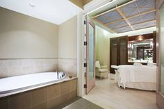 Waldorf Astoria Spa Treatment Room - Each treatment room offers a private retreat during your relaxing spa experience.