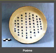 Plato antiguo Bleu de Hue