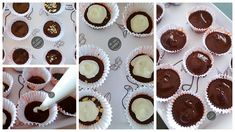 Kolay İkramlık Çikolata Mini Cupcakes, Muffin, Food And Drink, Breakfast, Desserts, Iphone, Amigurumi, Candy, Bag