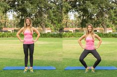 10 Sculpting Moves for Mile-Long Legs - Pilates instructor Andrea Spier shows you how to keep those gams lean, sculpted, and mile-long.