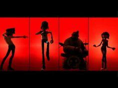 Gorillaz Brit's awards - Dirty Harry - YouTube
