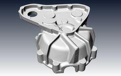 Crankcase 3D scanning