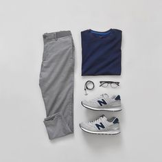 Men Casual T-Shirt Outfit 🖤 Very Attractive Casual Outfit Grid, Fashion Mode, Suit Fashion, Fashion Outfits, Fashion Clothes, Fashion Blogs, Style Fashion, Womens Fashion, Stylish Men, Men Casual