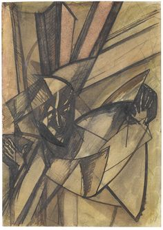 From David Bowie Collection: Lewis, Percy Wyndham Textile Sculpture, Sculpture Art, Book Cover Art, Book Art, Wyndham Lewis, David Bowie Art, Ink Wash, Global Art, Cubism