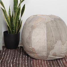 Globe Pouf/ottoman Good Ideas