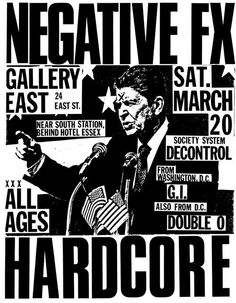 Old Punk Flyers- flyer for an invite?