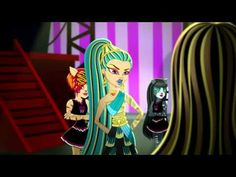 Monster High Nefera De Nile Doll Costume Makeup Tutorial for Halloween or Cosplay | KITTIESMAMA - YouTube