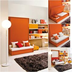 Sofa wall bed from Resource Furniture
