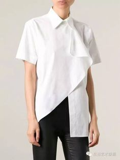 Resultado de imagen para asymmetric shirt